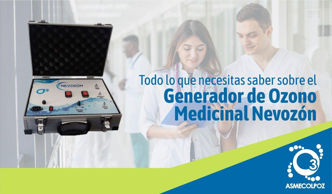 Generador de Ozono Medicinal Nevozón